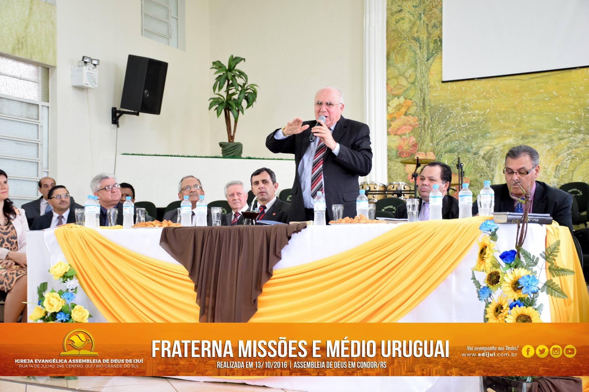 Fraterna Missões e Médio Uruguai em Condor/RS